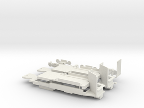 Chassis Boston Type 8 LRV Breda in White Natural Versatile Plastic