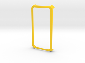 Fairphone Round Slim Frame Case in Yellow Strong & Flexible Polished