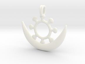 Symbol OSRAM NE NSOROMMA Jewelry Necklace in White Processed Versatile Plastic