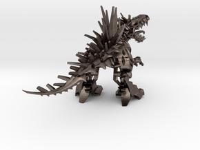 """Raptor V2 3 - Mega XL (304 cm - 12"""" long) in Polished Bronzed Silver Steel"""