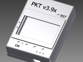 PKT V3.9x in White Natural Versatile Plastic