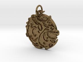 Creator Pendant in Natural Bronze