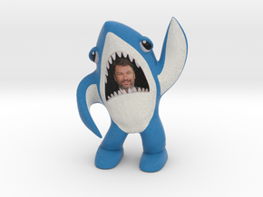 John Phillips left shark in Full Color Sandstone