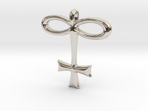 GLASS Alchemy Jewelry Symbol in Platinum