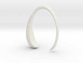 Pulsera Drop (Body) in White Natural Versatile Plastic