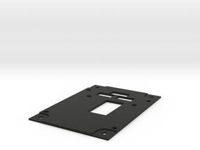 F22 Landing Gear Panel in Black Strong & Flexible