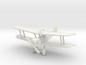 """S.E.5, """"Greenhouse Canopy"""", 1:144th Scale in White Natural Versatile Plastic"""