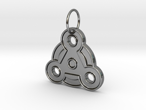 Magic Pendant in Polished Silver