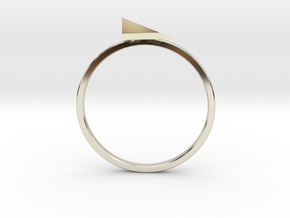 alex in 14k White Gold