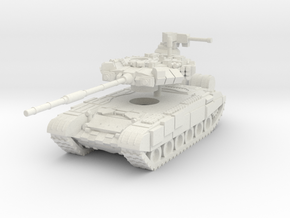 MG144-R08 T-90A MBT in White Natural Versatile Plastic
