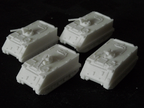 MG144-NATO01 M113A1 Platoon in White Natural Versatile Plastic
