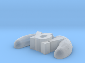 YoPicklesTiny in Smooth Fine Detail Plastic