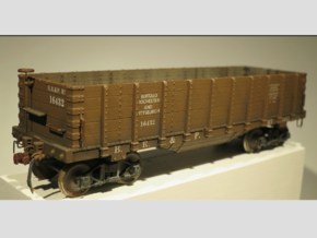 Hopper Buffalo Rochester & Pittsburg S Scale 1/64  in Smooth Fine Detail Plastic