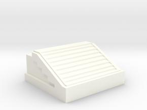 QEII Library in White Processed Versatile Plastic