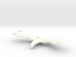 "Valbird Class WarBird   Large 7.5"" in White Processed Versatile Plastic"