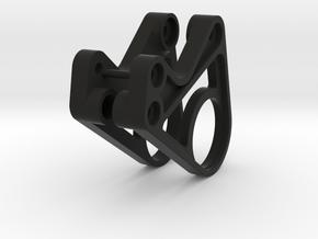 416001-01 Rising Fighter Suspension Side Mounts in Black Natural Versatile Plastic