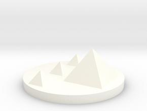 City Marker Ciro 2.dae in White Processed Versatile Plastic