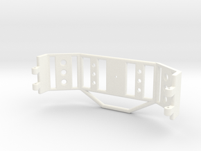 Body Mounted Spare Carrier Part 2/2 in White Processed Versatile Plastic