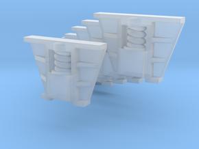 Böksholms lok - Hornblock - 6 st i skala H0 in Smoothest Fine Detail Plastic