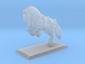 War Horse 35mm in Smooth Fine Detail Plastic