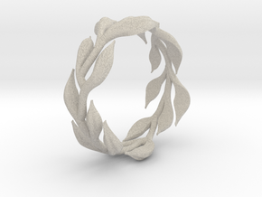 Vine Band -  Size 6.5 in Natural Sandstone
