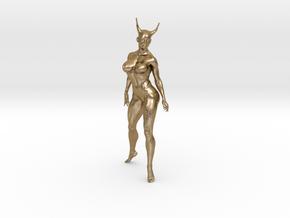 Zila in Polished Gold Steel