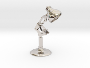 Pixar Lamp in Platinum