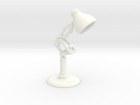 Pixar Lamp in White Processed Versatile Plastic