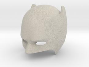 Custom Batman Cowl v2 in Natural Sandstone