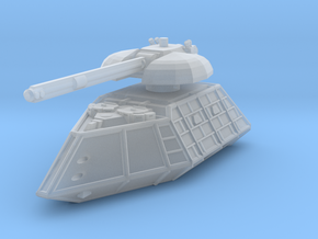 MG144-ZD01 Khâguard Main Battle Tank in Smooth Fine Detail Plastic