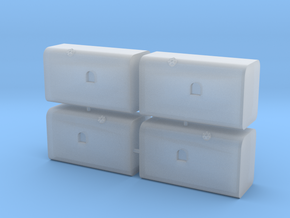 HammerTanks in Smooth Fine Detail Plastic