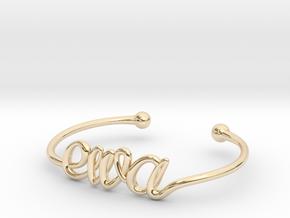 Ewa Bracelet (small) in 14k Gold Plated Brass