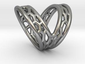 V-shape Finger splint Size10.5 ; Inner diameter 20 in Natural Silver