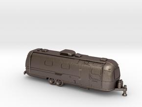 TT Gauge - American Trailer in Polished Bronzed Silver Steel