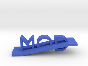 Modlogo7 in Blue Strong & Flexible Polished