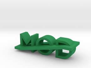 Modlogo6 in Green Strong & Flexible Polished