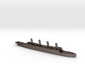 Titanic: The final voyage in Polished Bronzed Silver Steel