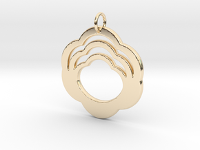 Cloud - Flower in 14K Yellow Gold