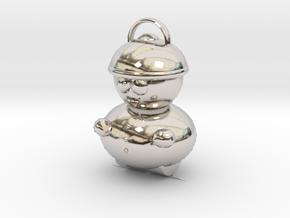 Cartman Pendant in Platinum