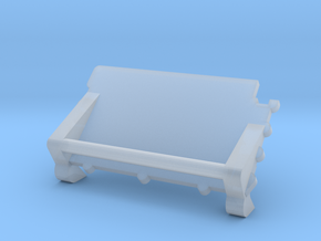 F07C-Panel 4-folded Table in Frosted Ultra Detail