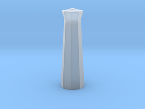 3mm (1/600th) Control Tower in Smooth Fine Detail Plastic