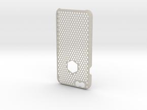 iPhone 6 case_ Hexagons in Natural Sandstone