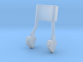 F12C-Folded TTCA Armrest-LMP Side in Smooth Fine Detail Plastic