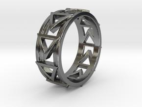 Dreiecklein Ring Size 10.5 in Polished Silver
