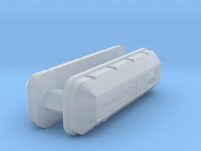 1/43 BBC 502 Logo Valve Covers in Smoothest Fine Detail Plastic