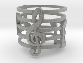 Musical Ring (Size 6) in Metallic Plastic