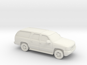 1/87 2000-06 GMC Yukon in White Natural Versatile Plastic