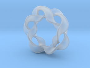 Interlocked waves in Smooth Fine Detail Plastic
