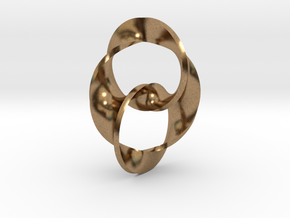 Trinity in Natural Brass