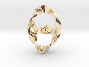 Trinity in 14k Gold Plated Brass